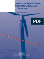 REF report on Performance of Wind Farms 2013