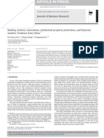 Banking Systems, Innovations, Intellectual Property Protections, And Financial 2013.05.025