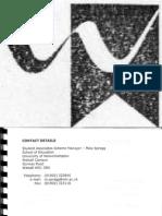 Student Associates Scheme Log Book