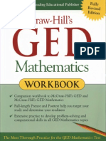 GED Mathematics Workbook