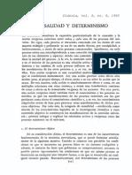 Causalidad y Determinismo DIA60 de Gortari