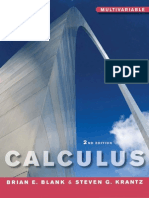 Calculus Multivariable 2nd Edition Blank & Krantz - Vector Calculus PDF