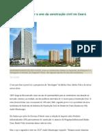 2010 promete ser o ano da construção civil no Ceará