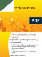 Banking - Liquidity Management