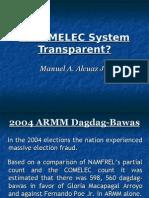 Is COMELEC System Transparent?