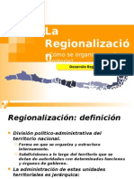 LA REGIONALIZACION PPT