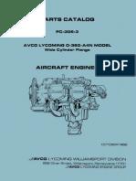 LYCOMING O-360-A4N - Parts Manual PC-306-3.pdf