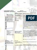 Planejamento Semanal 11-08 a 15-08-2014