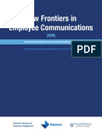 New Frontiers in Employee Communications, Edelman 2006