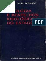 Ideologia e Aparelhos Ideológicos Do Estado