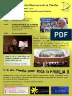 X Encuentro Diocesano de La Familia - Cartel - Programa.