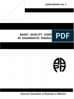 Basic Quality Control in Diagnosic Radiology