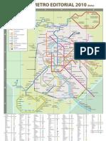Mapa Metro Editorial