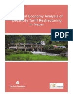 Nepal - 2012 - A Political Economy Analysis of Electricity Tariff Restructuring in Nepal.pdf