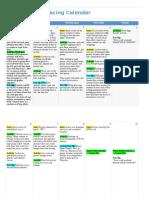 Unit Pacing Calendar