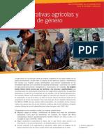 Las cooperativas agrícolas y la igualdad de género