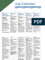 InTASC 7Andrea Johnson_Pacing Calendar