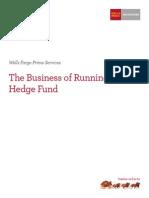 Running a Hedge Fund