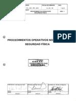 Procedimiento Operativos Seguridad Fisica