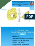 Clasificaciones Geomecanicas M.R 2010-II