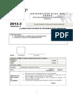 Examen Sustitutorio de Microbiología Ambiental