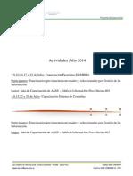 Capacitacion Julio 2014