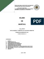 SYllabus de Bioetica_ UNMSM