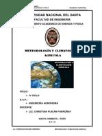 001 Meteorología y Climatología Agrícola