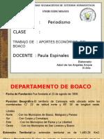 Presentacion Departamento de Boaco