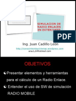 Simulación de Radio Enlaces - Radio Mobile
