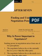 Power - negotiations