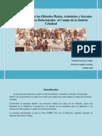 Análisis de la filosofía aplicada al campo jurídico