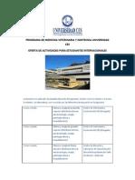 Oferta Internacional Facultad Veterinaria Zootecnia