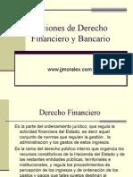 2.- Nociones de Derecho Financiero y Bancario.154215336