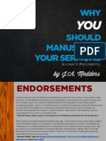 Why You Should Manuscript Your Sermons by Ja Medders