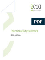 Colour Assessment - ECCA Guidelines, FINAL