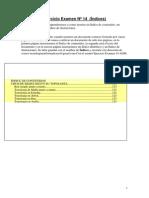 Ejercicio Examen 14 - Solución