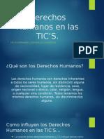 Derechos Humanos en Las TIC's