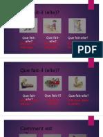 Francais CP Exercice