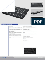 Ficha Tecnica Mesa de Iluminacion DMX Discovery 24
