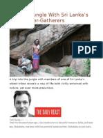 Into The Jungle With Sri Lanka's Last Hunter-Gatherers.odt