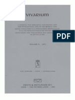 Vivarium - Vol. 9, Nos. 1-2, 1971