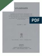 Vivarium - Vol. 1, 1963