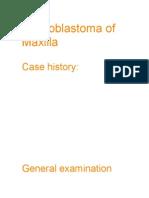 Presentation_Ameloblastoma of Maxilla