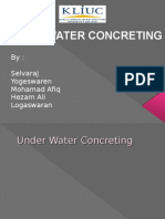 Under Water Concreting (BEC201)