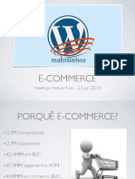 Wordpress - E-COMMERCE