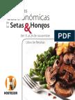 Recetario de Setas y Hongos 2013