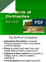 The Birth of Civilization - Section 4, Vol. 1