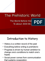 The Prehistoric World - Section 3, Vol. 1