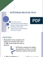 Estandar Militar 105 d